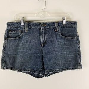 🤑$10.00 Sale Tommy Hilfiger womens 12 jean shortd